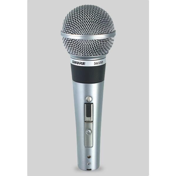 Shure - [565SD] MICROFONO DINAMICO CARDIOIDE PER VOCE