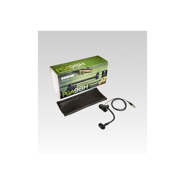 Shure - [PGA98H TQG] Microfono a condensatore cardiode per strumenti