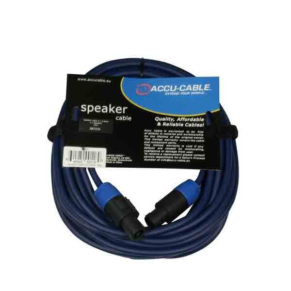 Accu-Cable - [AC-SP2-2,5/10] Cavo per diffusore speakon-speakon 10 mt.