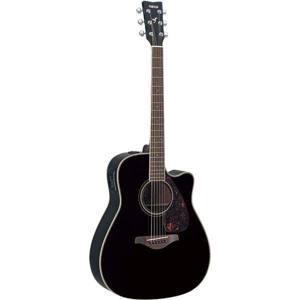 Yamaha - [FGX720SC] Chitarra Folk Elettroacustica- Black