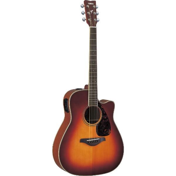 Yamaha - [FGX720SC] Chitarra Folk elettroacustica - Brown Sunburst