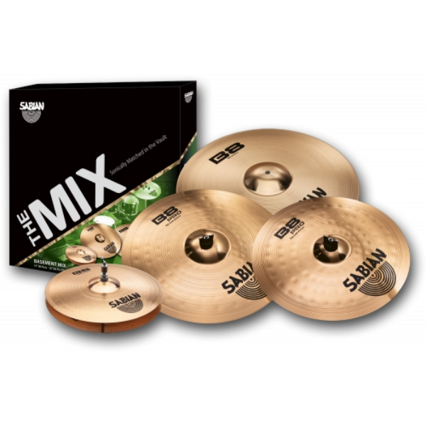 "Sabian - [BP5003] SET PIATTI ""THE MIX BASEMENT"""