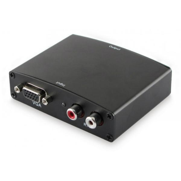 Alpha Elettronica - [CT353/1] Convertitore da VGA+Audio a HDMI