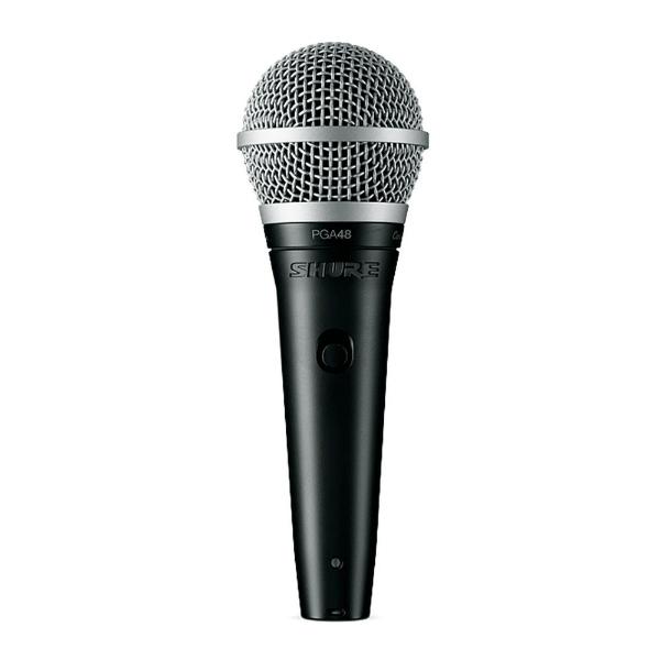 Shure - [PGA48XLRE] MICROFONO DINAMICO CARDIOIDE PER VOCE