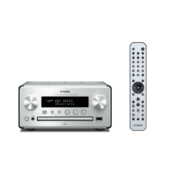 Yamaha - [CRX-N560]  Sistema Network - CD - Silver