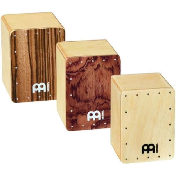 Meinl - H50-SET Mini Cajon Shaker Set, 3 Pezzi