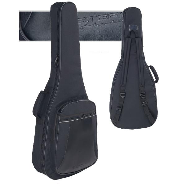 Stefy Line - [SLJT506 BLK] Borsa x chitarra classica 1/2 Nera