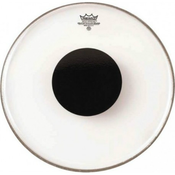 "Remo - [CS-1318-10] Pelle CS Black Dot x grancassa 18"""