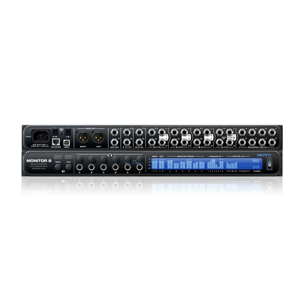Motu - [MONITOR 8] Monitor mix + amp cuffie + interfaccia audio