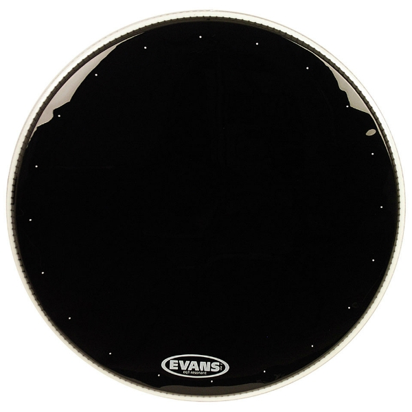 "Evans - EQ1 Risonante Cassa Black - [JDBD20RA] Pelle risonante x cassa ""20"" EQ1 RESONANT BLACK"