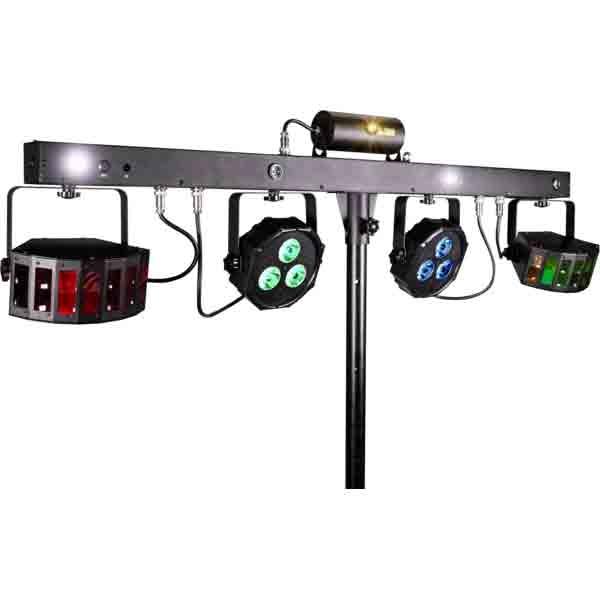 Prolights - [LUMI4COMBY] Effetti led + laser + cambiacolori