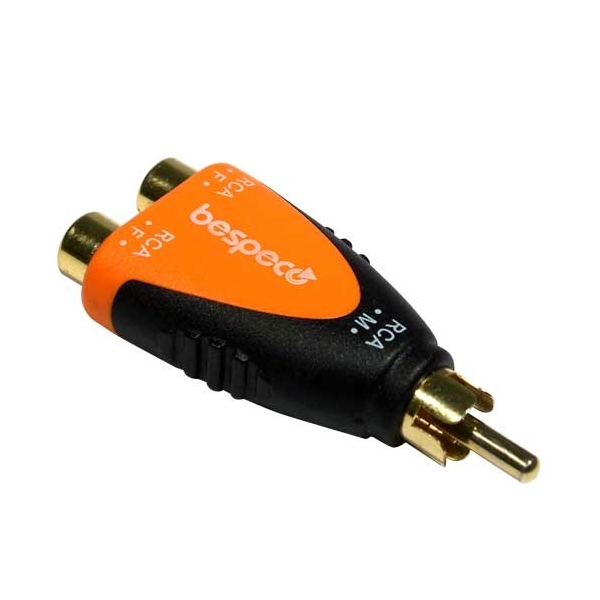 Bespeco - Silos - [SLAD355] Adattatore RCA M > 2x RCA F