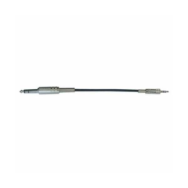 Bespeco - Eagle - [BT640] Cavo Adattatore jack ø3,5mm stereo M > jack ø6,3mm stereo M 1,5mt