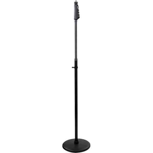 ProAudio - [MS80QBK] Asta microfonica con base rotonda