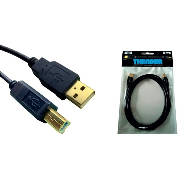 Thender - [31-133] Cavo USB 2.0 tipo A M > tipo B M 3,0mt