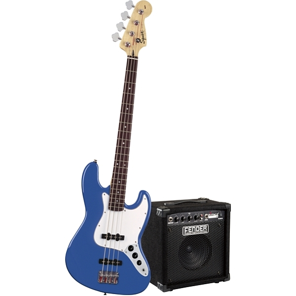 Fender - Squier Stop Dreaming, Start Playing! Set - [0301670695] Affinity J Bass Blue con Amplificatore Rumble 15