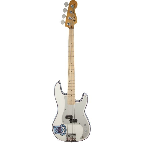 Fender - Artist - [0141032305] STEVE HARRIS Precision Bass - MN / Olympic White
