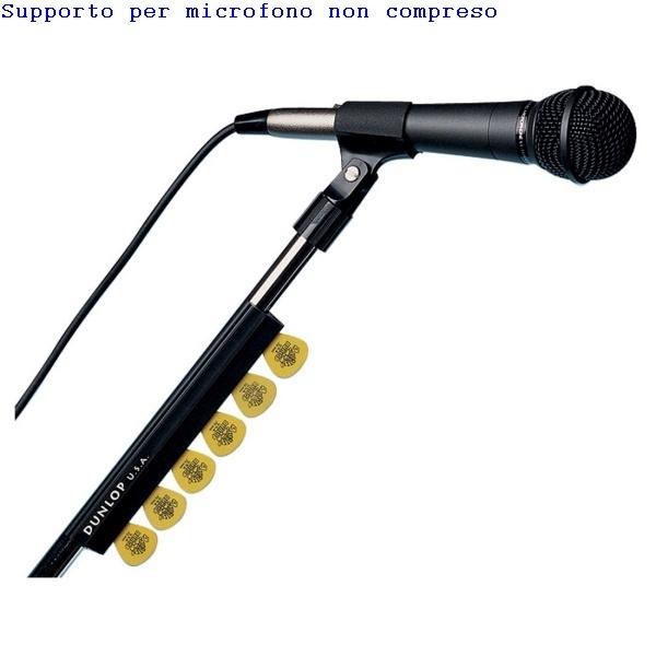 """Dunlop - [5010] Porta plettri da 7"""" x asta microfono"""