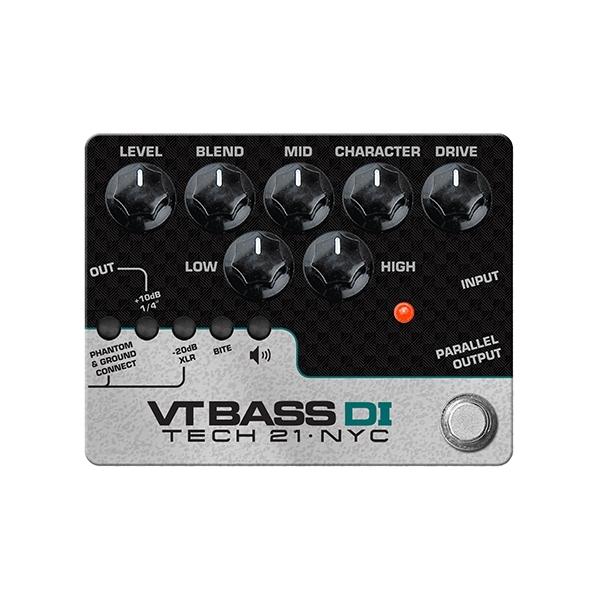 Tech 21 - Character Series - SansAmp VT Bass DI