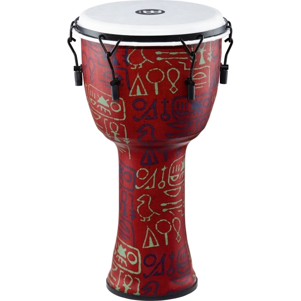 "Meinl - [PMDJ1-L-F] Djembe 12"" Pharaoh's Script, Mechanical Tuned"