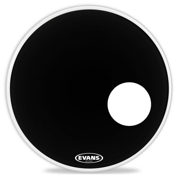 "Evans - [JDBD18RB] Pelle risonante ""18- EQ3 Nera - No foro"
