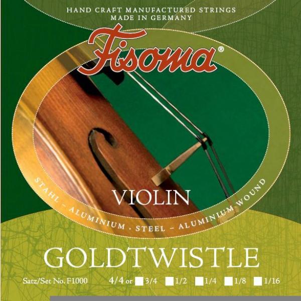 Lenzner - [F-1000] Fisoma Goldtwistle - Muta corde x violino