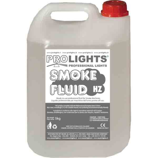 Prolights - [SMOKEFLUIDHZ] Liquido per macchina effetto nebbia 5LT.