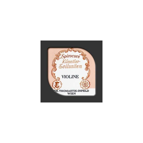 Thomastik - Spirocore - S9 corda per violino 4/4 medium - Mi2 I