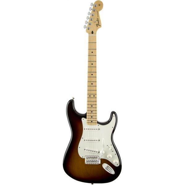 Fender - Mexican Standard - [0144602532] Stratocaster Brown Sunburst, Maple Fingerboard