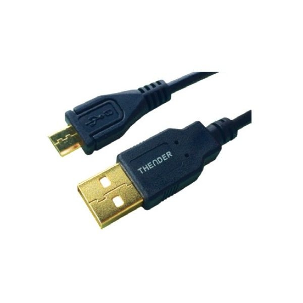 Thender - [31-161] Cavo USB 2.0 tipo A M > tipo micro B M 1,5 mt