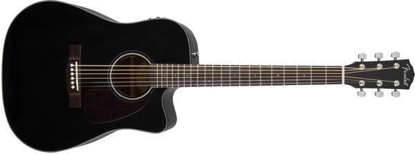 Fender - [0961514006] CD140SCE CHITARRA ACUSTICA ELETTRIFICATA BLK V2