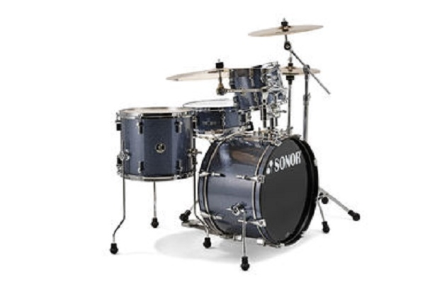 Sonor - [SSE13] BATTERIA ACUSTICA 4pz BLACK GALAXY SPARKLE