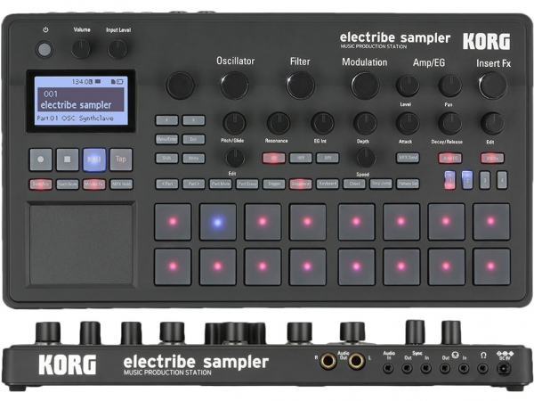 Korg - GROVEBOX ELECTRIBE 2S