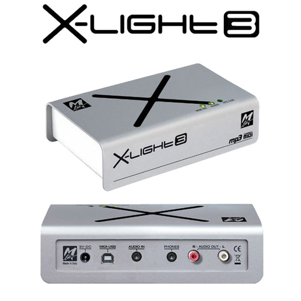 M-Live - [X-LIGHT 3] Modulo sonoro + scheda audio
