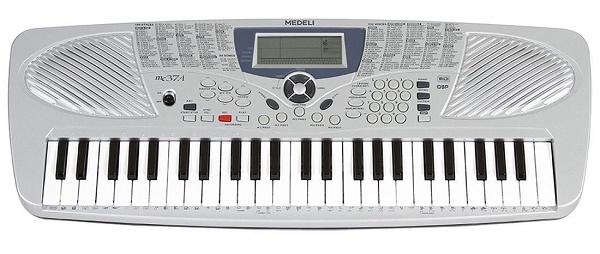 Medeli - Tastiera per ragazzi MC3749 tasti