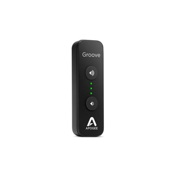 Apogee - GROOVE - Convertitore DAC USB portatile con amplificatore per cuffia