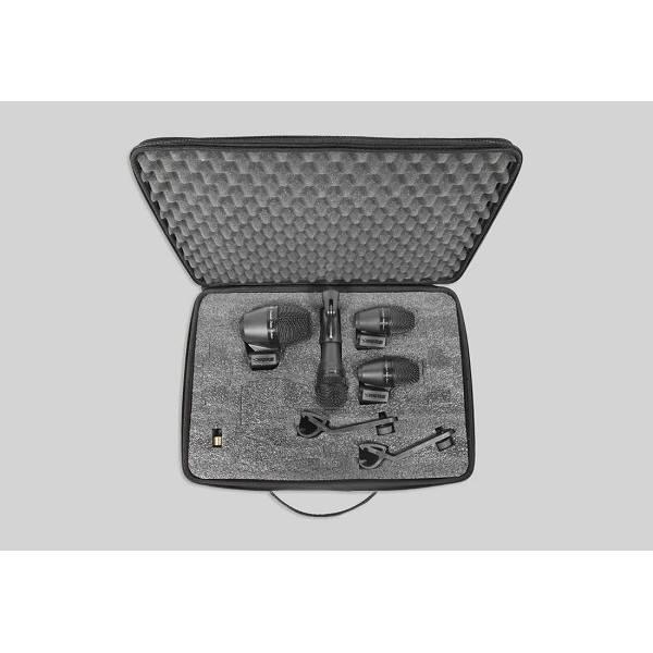 Shure - PG - [PGADRUMKIT4] Kit Microfoni batteria