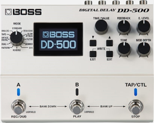 Boss - [DD500] DELAY DIGITALE