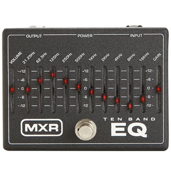 Dunlop - Mxr - [M108] 10-Band Graphic EQ