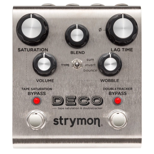 Strymon - DECO - Pedale effetto Tape Saturation & Doubletracker