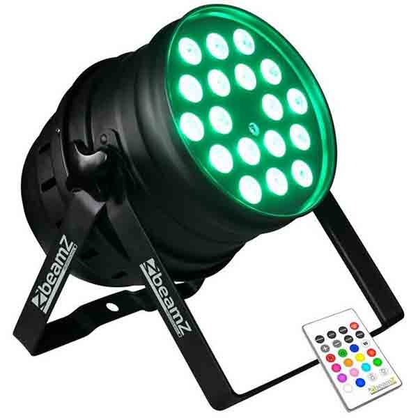 BeamZ - [LED PAR64] 18X10W RGBW