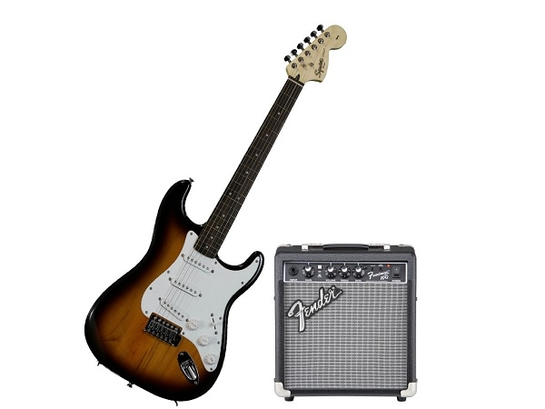 Fender - Squier Stop Dreaming, Start Playing! Set - [0301612632-10G-BSB] Stratocaster Squire Sunburnst e amplificatore 10w