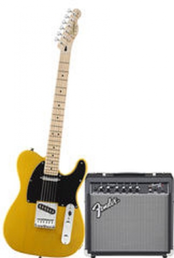 Fender - Squier Affinity - [0301618650-SQ.AF.TELE-PACK-15G-BBL] TELE con FENDER FRONTMAN 15