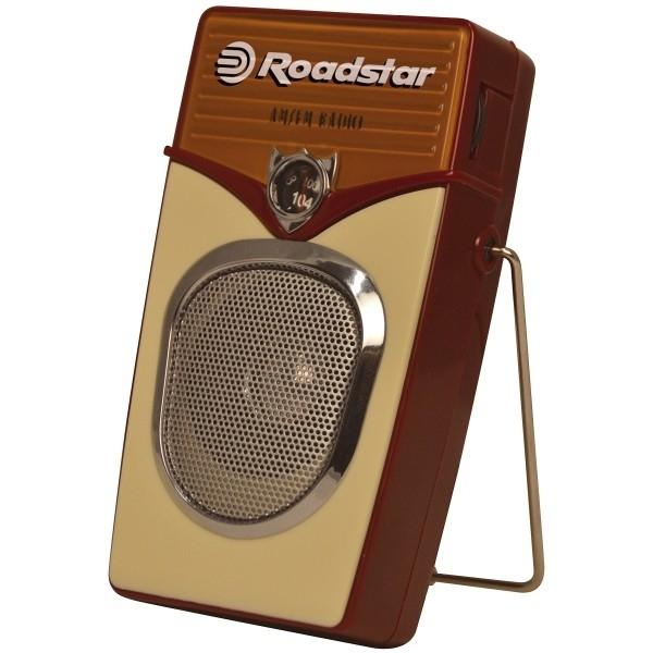 Roadstar - [TRA225] Radio Portatile Vintage Style AM/FM