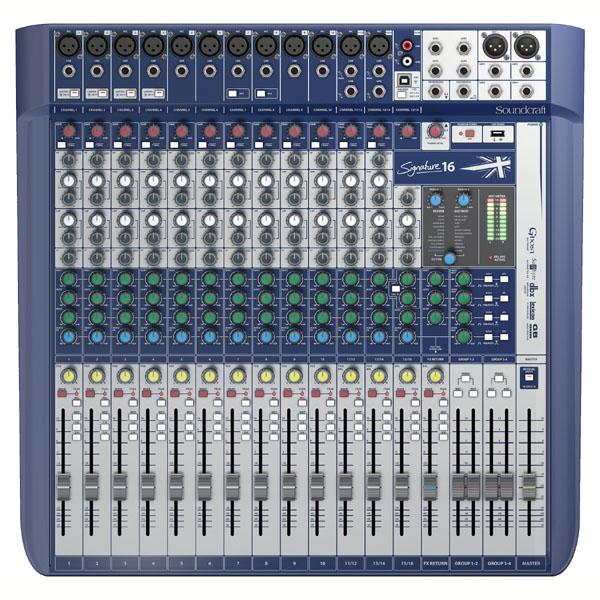 Soundcraft - [SIGNATURE 16] Mixer 16 canali con effetti