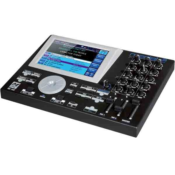 M-Live - [MERISH3] Workstation touch screen per file e basi musicali MIDI/MP3