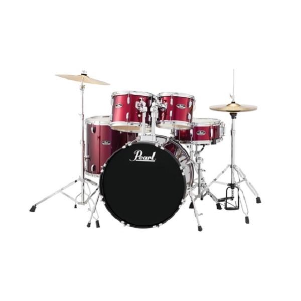 Pearl - [RS-525SC/C-ROADSHOW #91] Batteria acustica completa, color vinaccia