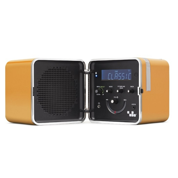Brionvega - [TS522D] Radio Cubo Color Giallo Sole