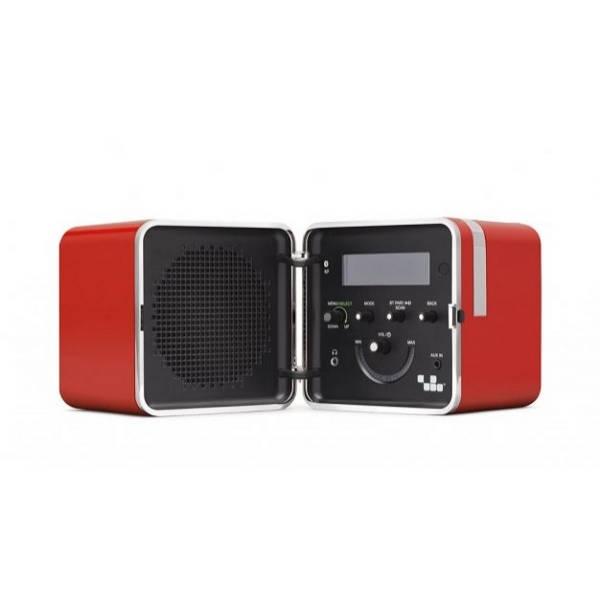 Brionvega - [TS522D] Radio Cubo Color Arancione