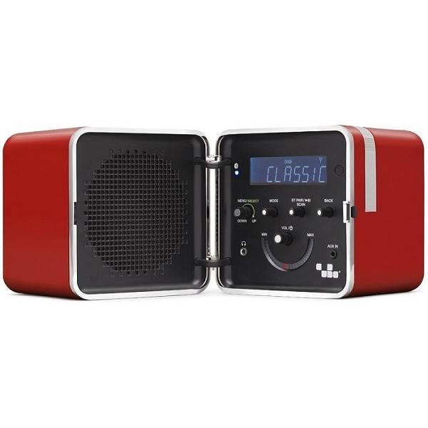 Brionvega - [TS522D] Radio Cubo Color Rosso